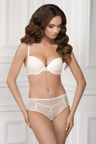 Бюстгальтер push-up с кружевом 1013/51 July whisper white