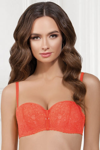 "Бюстгальтер ""анжелика"" push-up 1041/7 Moki living coral"