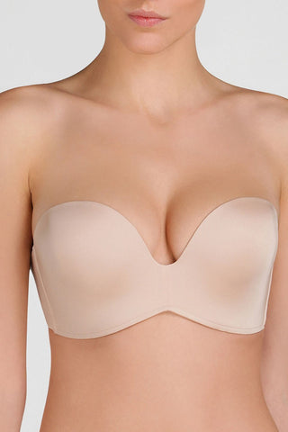 Бюстгальтер push-up без бретелей W032D Ultimate Strapless nude