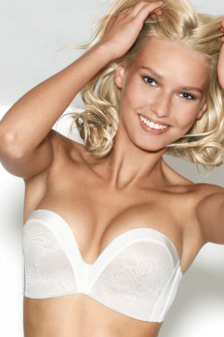 Бюстгальтер балконет push-up без бретелей Ultimate Strapless 9469 ivory