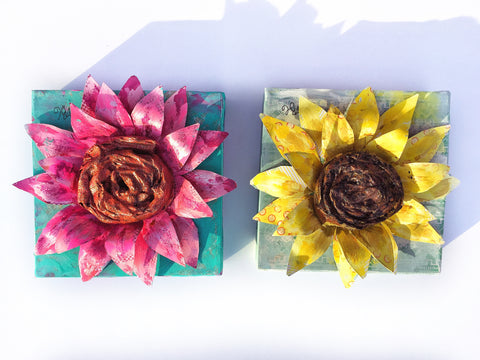 Mother Daughter 3D Flower Class May 4