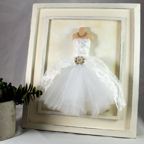 3D Dress- Wedding Tule Dress 2