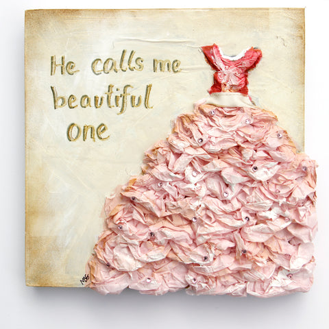 He Calls Me Beautiful One 8x8
