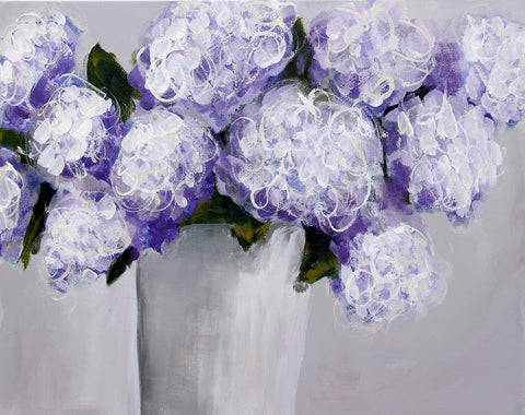 Hydrangea in Purple