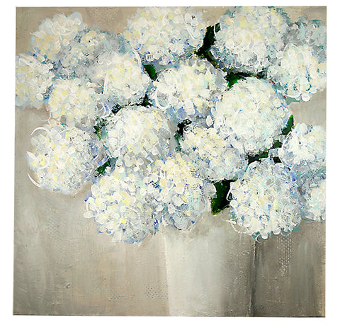 Large Blue Hydrangeas
