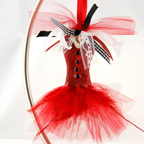 3D Ornament - Feather Dress