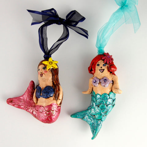 3D Ornament - Mermaids