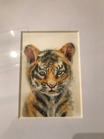 Tiger Gallery Framed