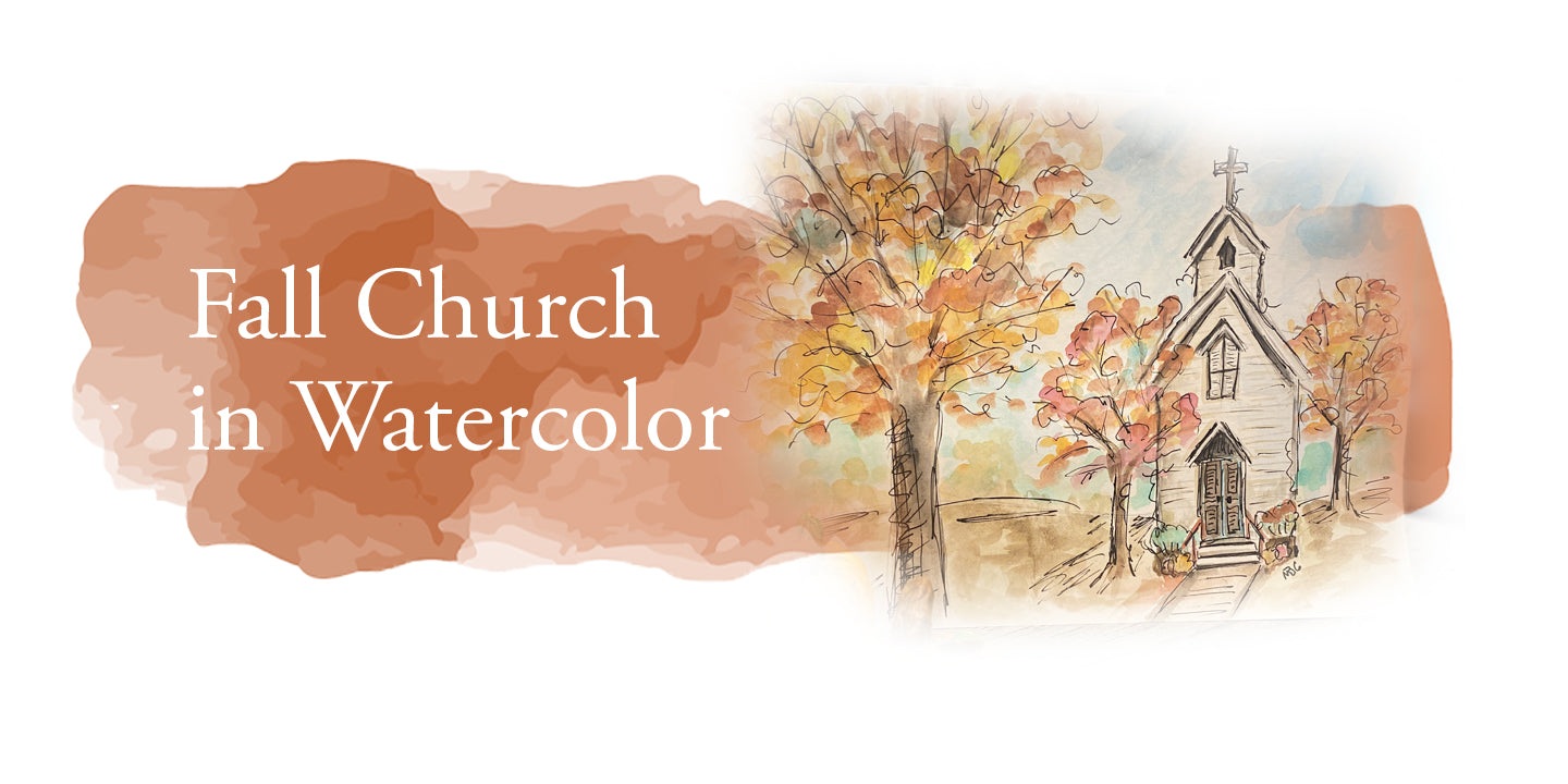 Fall Church Watercolor Class