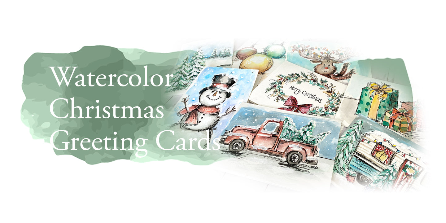 Watercolor Greeting Card Class
