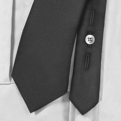 Clip On Tie with button holes - Tactical Wear