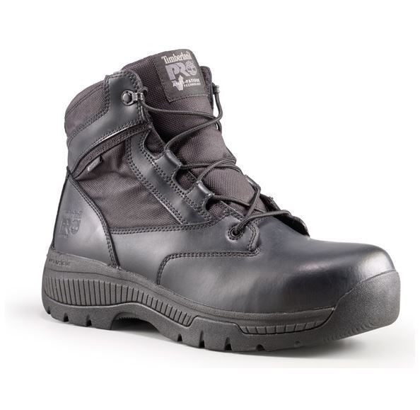 "Timberland PRO Valor Duty 6"" Side-Zip Soft Toe Boots WP - Tactical Wear"