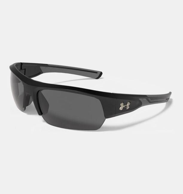 UA Big Shot Satin Black/Black Frame/Gray Lens - Tactical Wear