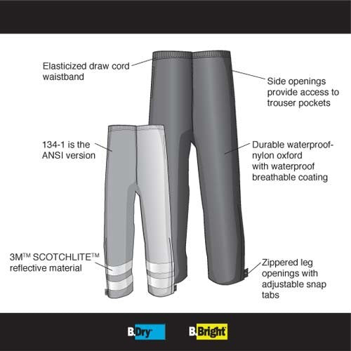 B.DRY® RAIN PANTS - Tactical Wear