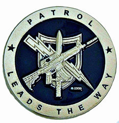 TACTICAL PATROL OFFICER CHALLENGE COIN - Tactical Wear