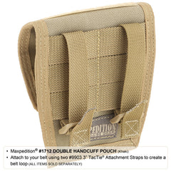 Double Handcuff Pouch