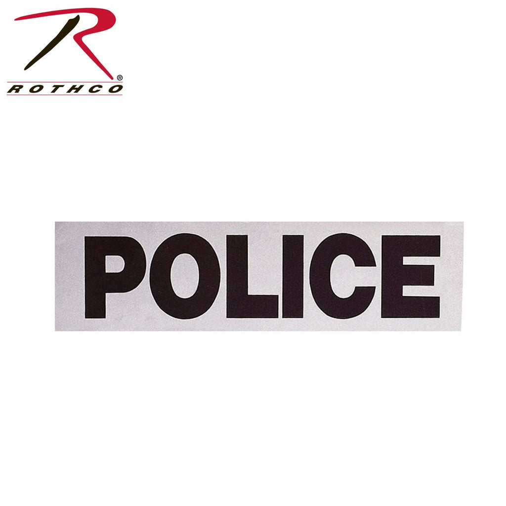 Rothco Reflective POLICE 12x3 - Tactical Wear