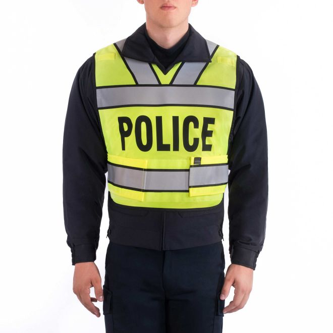 BLAUER BREAKAWAY SAFETY VEST - POLICE LOGO - Tactical Wear