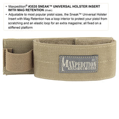 SNEAK™ Universal Holster Insert with mag Retention - Tactical Wear