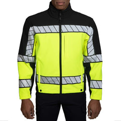 Blauer 4670 Color Block Softshell Fleece jacket