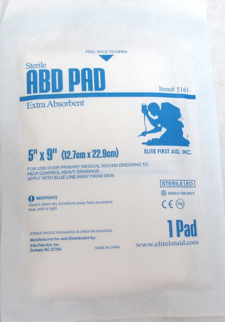 "Abdominal Pad 5""x9"" - Tactical Wear"