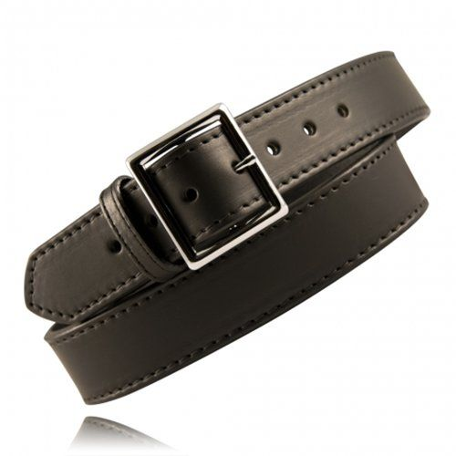 Boston Leather 1 3/4 Stitched Garrison Belt - Tactical Wear