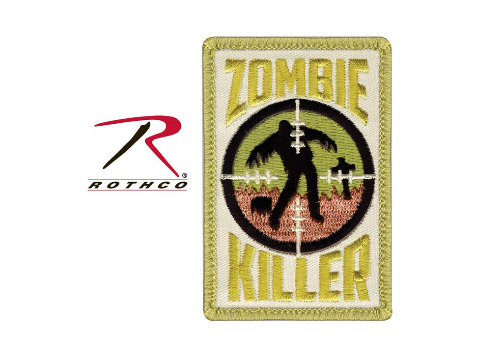 Zombie Killer Morale Patch - Tactical Wear