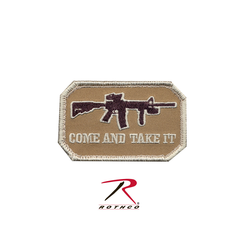 Come And Take It Patch - Tactical Wear