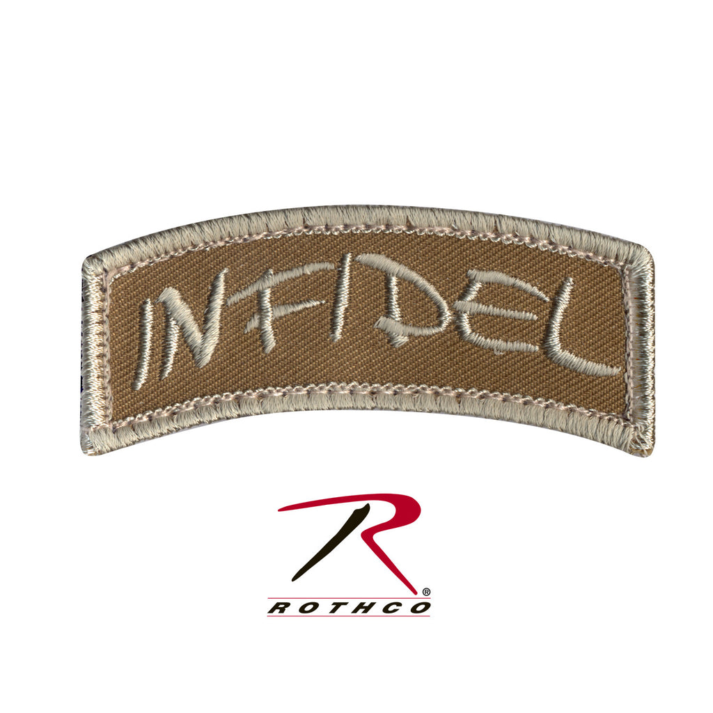 INFIDEL Shoulder Patch - Tactical Wear