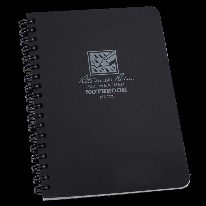 Black Universal Notebook 4.5 x7 - Tactical Wear