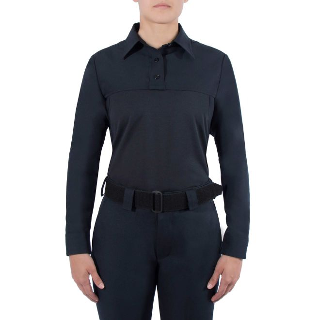 WOMEN'S LONG SLEEVE POLYESTER ARMORSKIN® BASE SHIRT - Tactical Wear