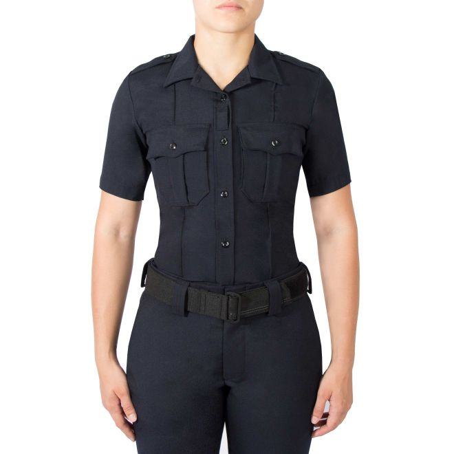 BLAUER WOMENS SS WOOLBLEND SUPERSHIRT - Tactical Wear
