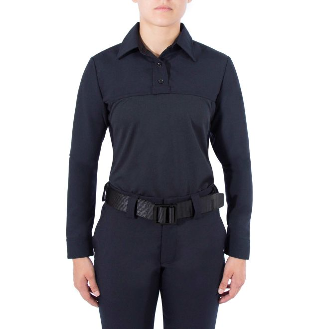 WOMEN'S LONG SLEEVE WOOL ARMORSKIN® BASE SHIRT - Tactical Wear
