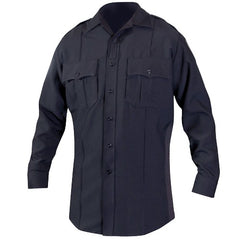 BLAUER  8670 LS POLYESTER SUPERSHIRT  Dark Navy