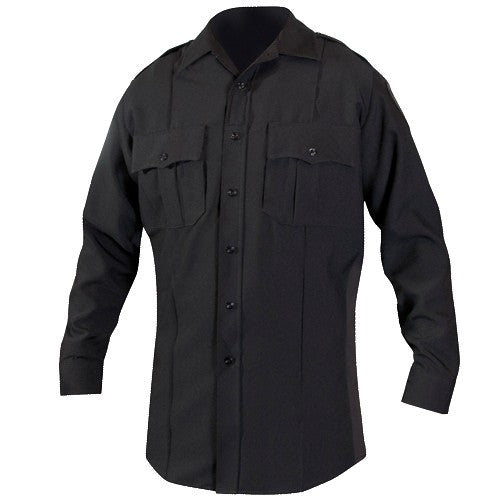 BLAUER  LS POLYESTER SUPERSHIRT®  Black - Tactical Wear