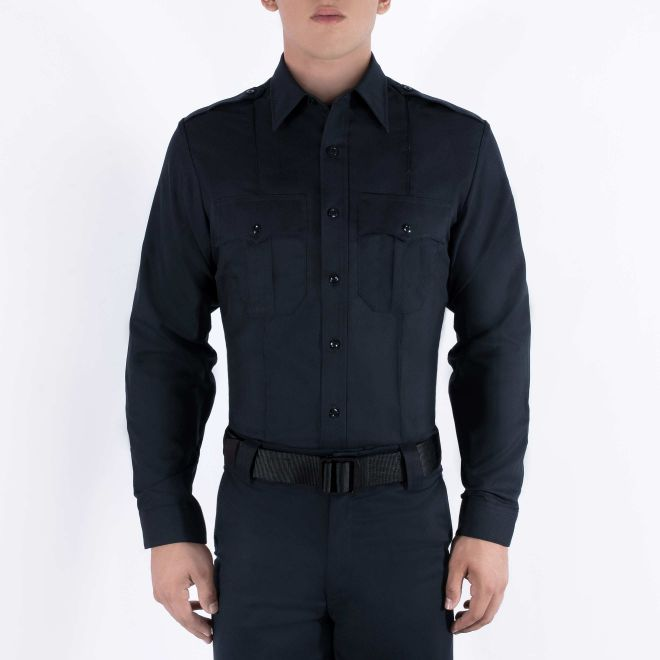 BLAUER LONG SLEEVE RAYON SHIRT - Tactical Wear