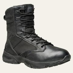 "Men's Timberland PRO Valor Tactical 8"" Side-Zip Soft Toe Work Boots WP - Tactical Wear"