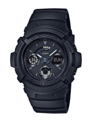 Casio G-shock Matte Black Ana Digi World Time Watch