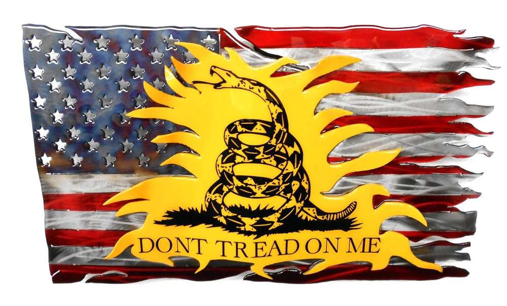 Don't Tread On Me Fusion Flag