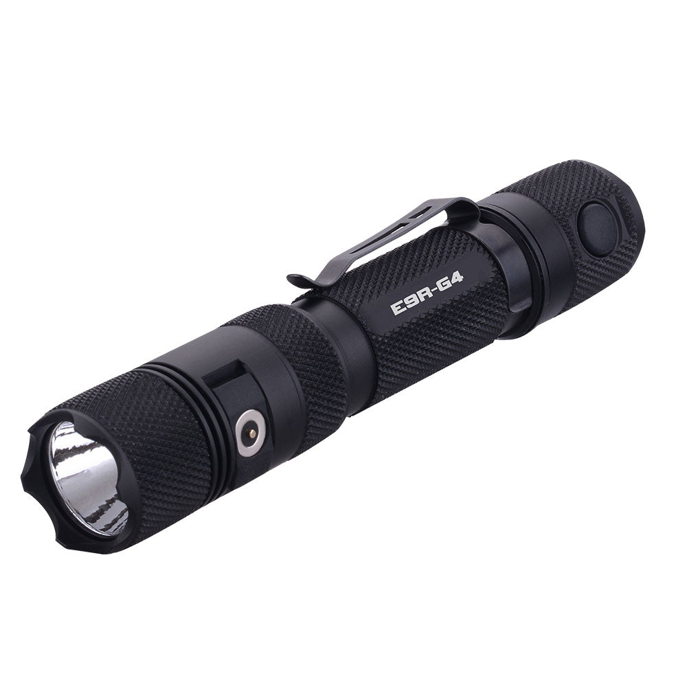 POWERTAC E9R-G4 - 2550 Lumen USB Rechargeable LED Flashlight - Tactical Wear