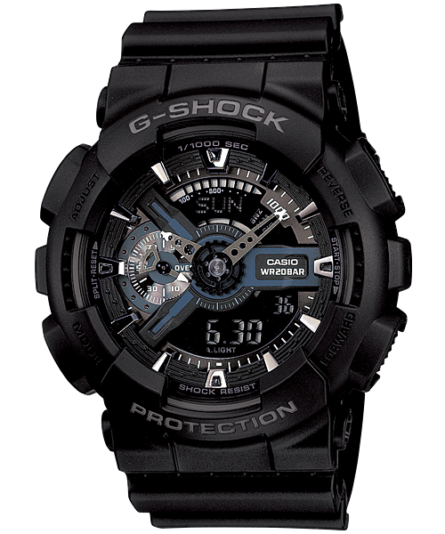 G-Shock XL Black - Tactical Wear