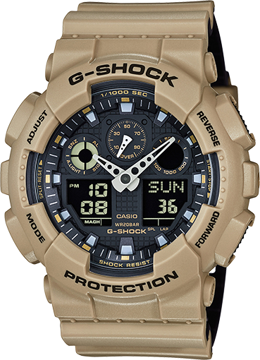 Casio XL Ana-Digi G-Shock - Tactical Wear