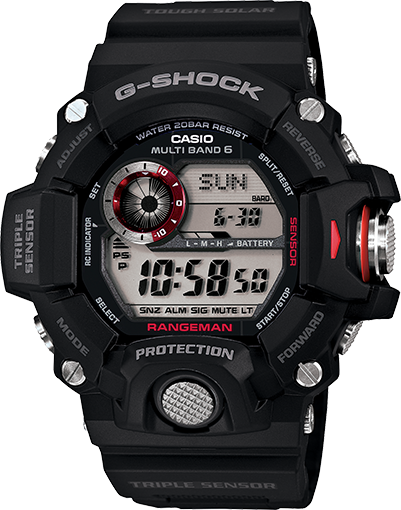 G Shock Rangeman- Triple sensor - Tactical Wear