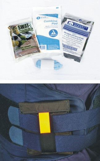 The Incognito Concealed Armor Mount Aid Kit