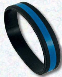 Thin Blue Line Wrist Band - Tactical Wear