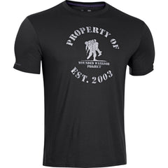 Men's UA WWP Property Of T-Shirt - Tactical Wear