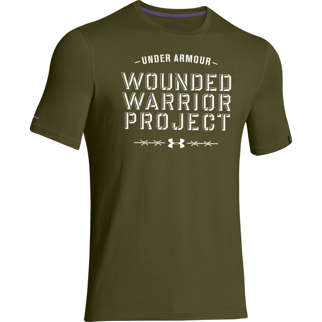 Men's WWP Barbed Wire T-Shirt - Tactical Wear