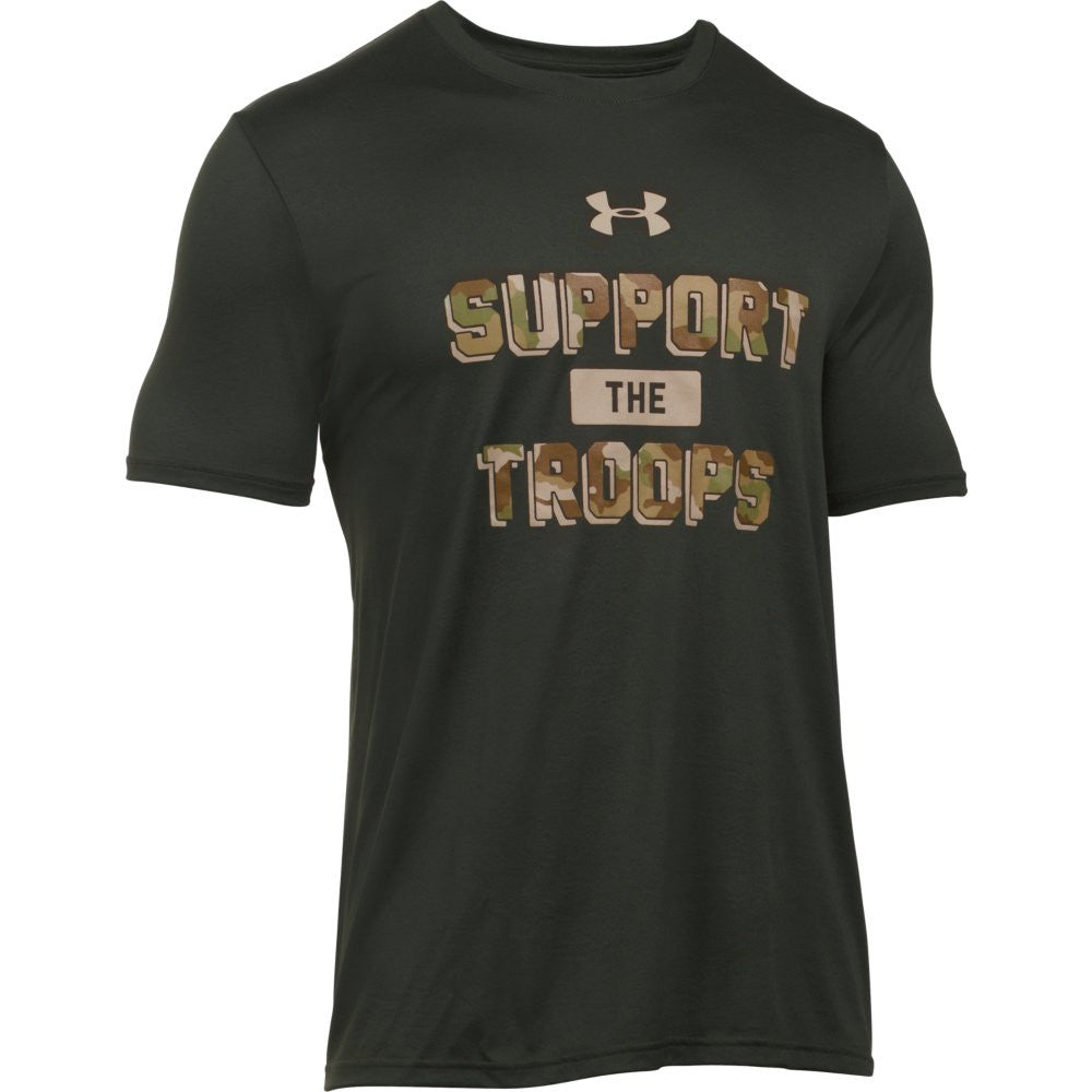 UA Support The Troops Tech T - Tactical Wear