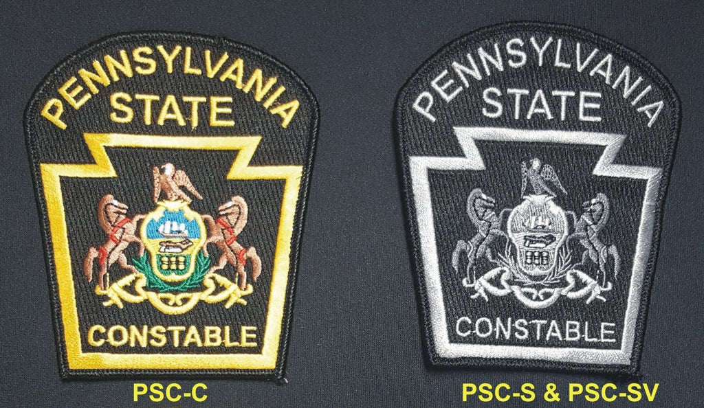 PA State Constable Shoulder Patches - Tactical Wear