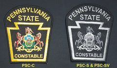 PA State Constable Shoulder Patches